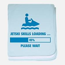 Jetski Skills Loading baby blanket