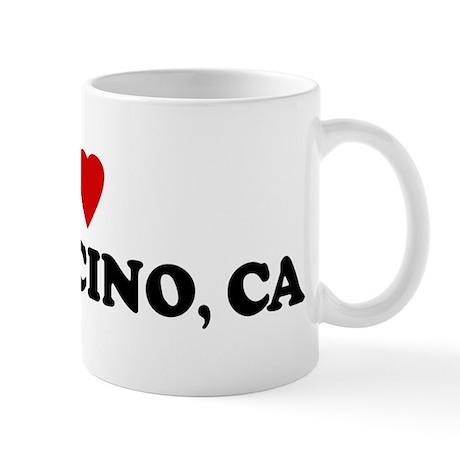 I Love MENDOCINO Mug