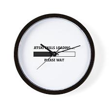 Jetski Skills Loading Wall Clock