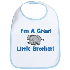 Great Little Brother (elephan Bib