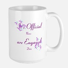 Its Official, Were Engaged Mug