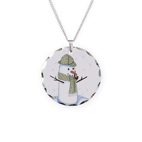 Showlock Necklace Circle Charm
