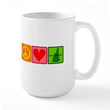 Peace Love New Hampshire Mug