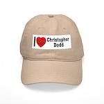 I Love Christopher Dodd Cap