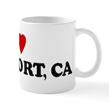 I Love ROCKPORT Small Mug