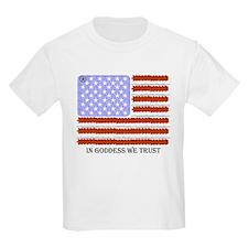 In Goddess we trust Kids T-Shirt