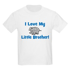 Love My Little Brother (eleph Kids T-Shirt