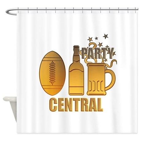 american football ball beer chips party central Sh