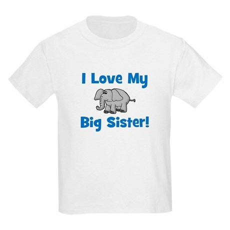 Love My Big Sister (elephant) Kids T-Shirt