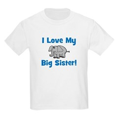 Love My Big Sister (elephant) Kids T-Shirt