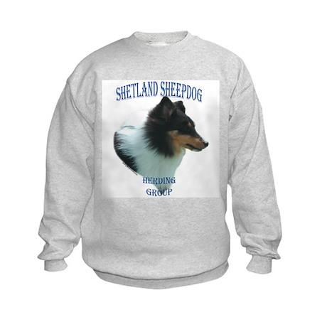 Sheltie 2 Kids Sweatshirt