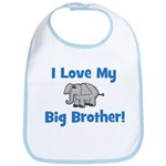 Love My Big Brother (elephant Bib
