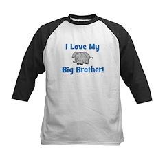 Love My Big Brother (elephant Kids Baseball Jersey