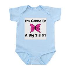 Gonna Be Big Sister (butterfl Infant Creeper