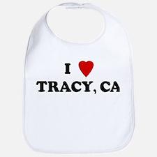 I Love TRACY Bib