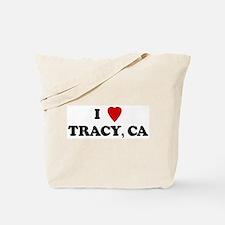 I Love TRACY Tote Bag