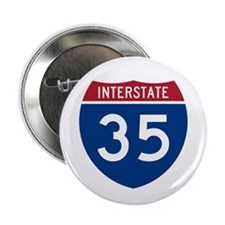 """I-35 2.25"""" Button (10 pack)"""