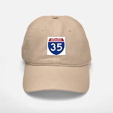 I-35 Baseball Baseball Cap