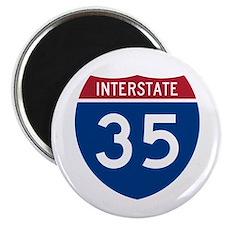 I-35 Magnet
