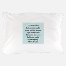 twain18.png Pillow Case