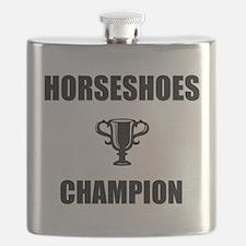 horseshoes champ Flask