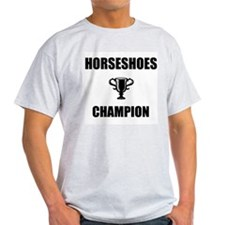 horseshoes champ T-Shirt