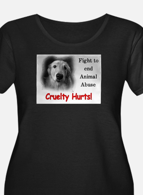 Cute Stand against animal abuse T