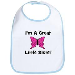 Great Little Sister (butterfl Bib