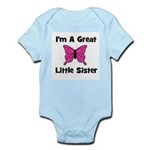 Great Little Sister (butterfl Infant Creeper