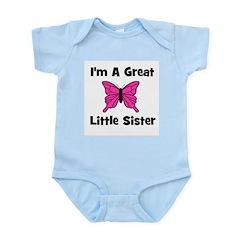 Great Little Sister (butterfl Infant Creeper