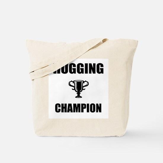 hugging champ Tote Bag