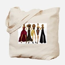 Fashionable Diva Tote Bag