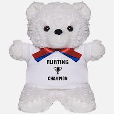 flirting champ Teddy Bear