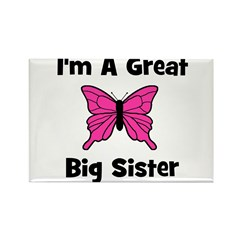 Great Big Sister (butterfly) Rectangle Magnet
