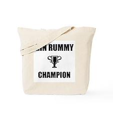 gin rummy champ Tote Bag