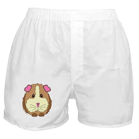 Brown Guinea Pig Boxer Shorts