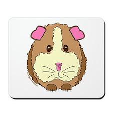 Brown Guinea Pig Mousepad