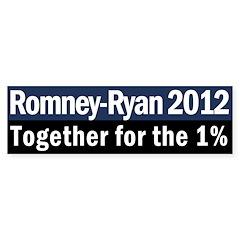 Romney-Ryan 2012 Bumper Sticker