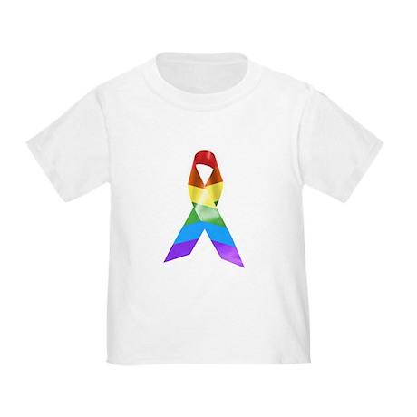 HIV Poz Pride Ribbon Toddler T-Shirt