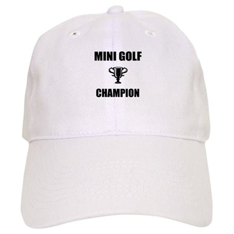 mini golf champ Cap