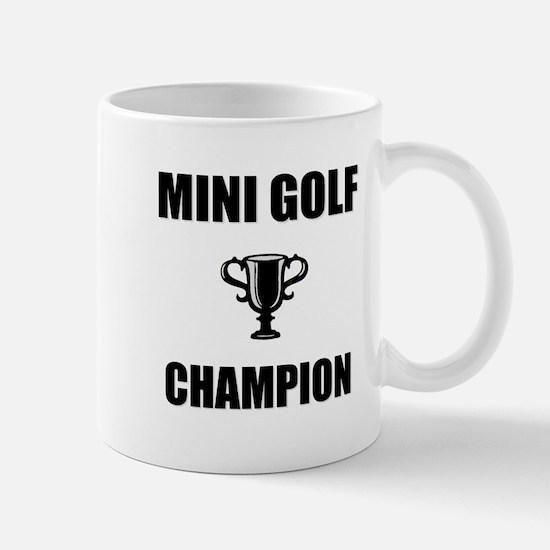 mini golf champ Mug