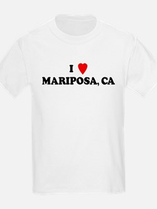 I Love MARIPOSA Kids T-Shirt