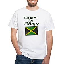 Jammin Musician Jamaica Flag Shirt