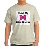 Love My Little Brother Ash Grey T-Shirt