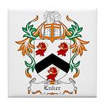 Luker Coat of Arms Tile Coaster