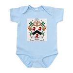 Luker Coat of Arms Infant Creeper