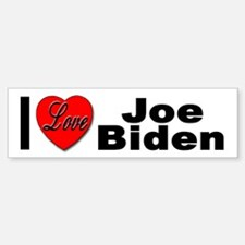 I Love Joe Biden Bumper Bumper Bumper Sticker