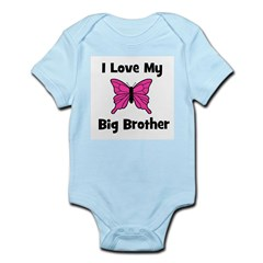 Love My Big Sister (butterfly Infant Creeper