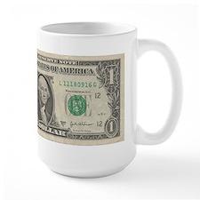1 dollar bill Mug