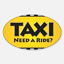 Taxi Decal